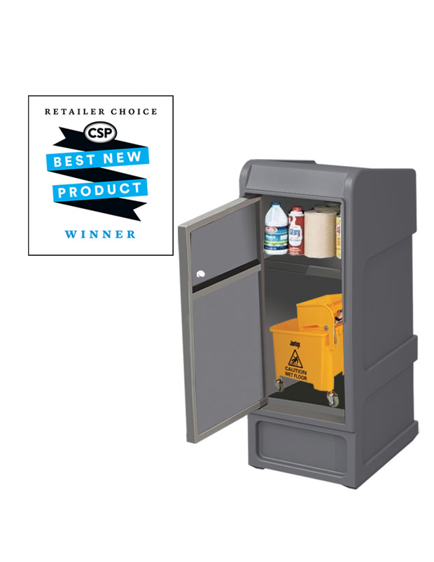 New Indoor / Outdoor Cleaning Supply Cabinet