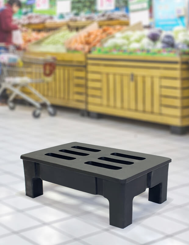 dunnage rack grocer